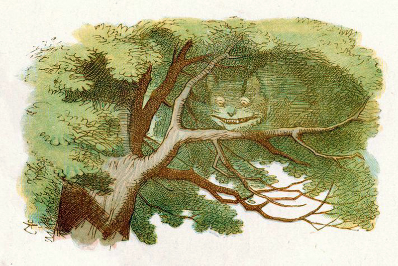 The Cheshire Cat by Sir John Tenniel