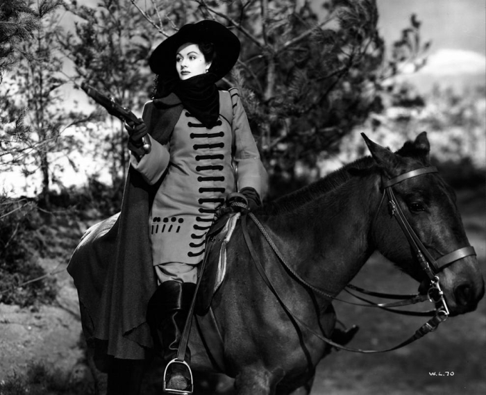 Margaret Lockwood in the film The Wicked Lady