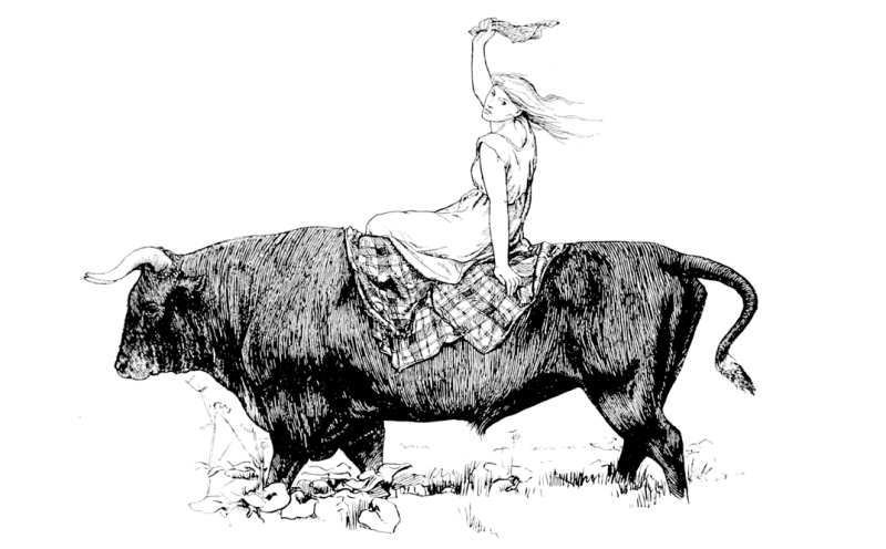 The Black Bull of Norroway by John D Batten
