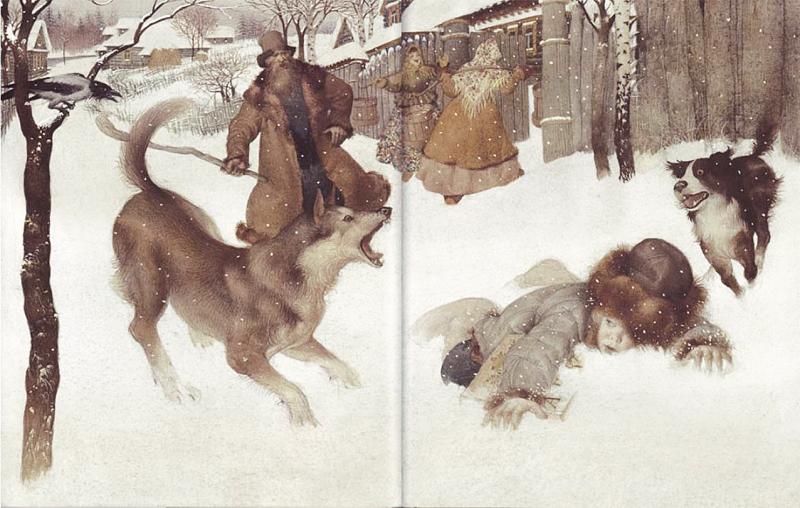 Russian Winter by Gennady Spirin