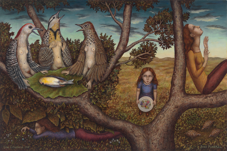 Bird Funeral by Gina Litherland