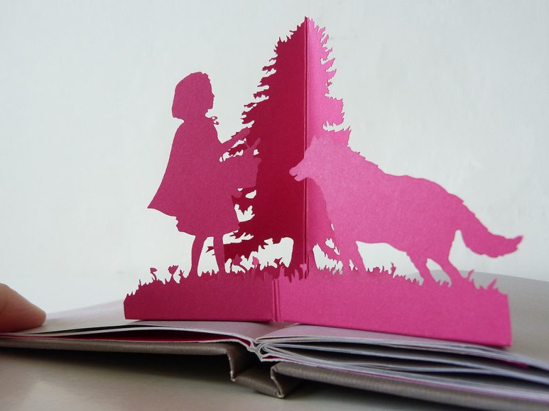 Pop Up Book by Laura Barrett