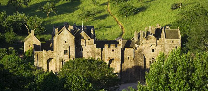 Compton Castle  Marldon  Devon
