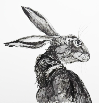 Easter Hare byJackie Morris