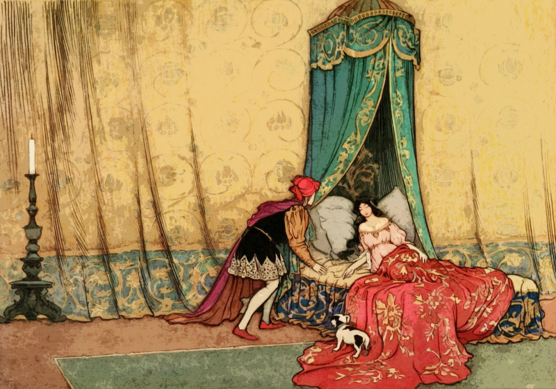Sleeping Beauty by Warwick Goble