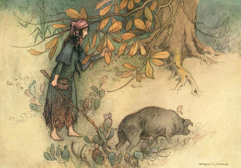 The Golden Root by Warwick Goble