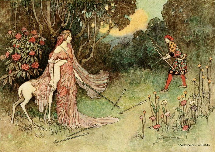 The Hind of the Forest by Warwick Goble