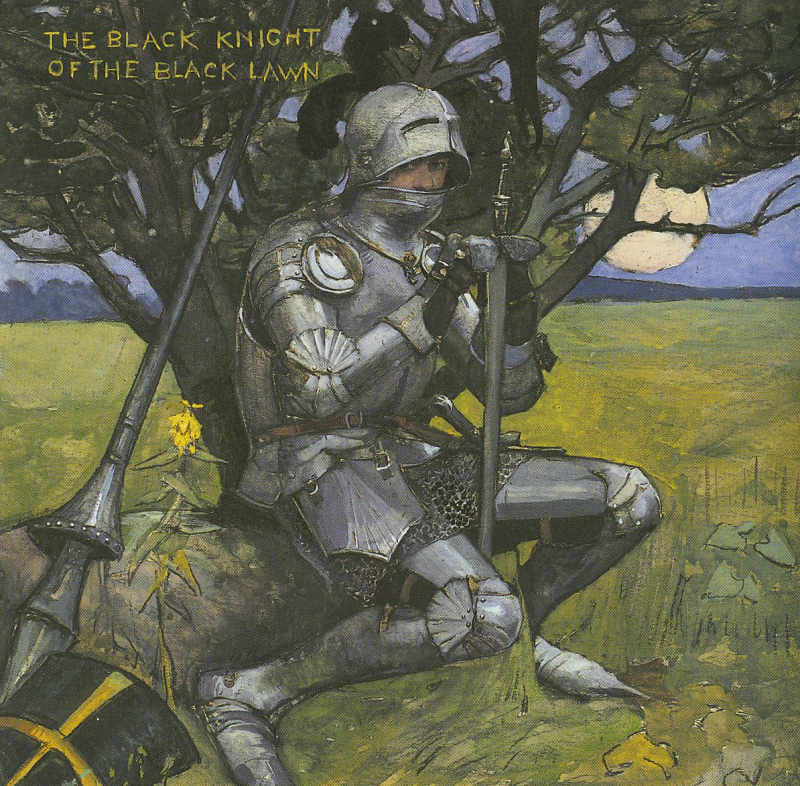 The Black Knight by Elizabeth Forbes