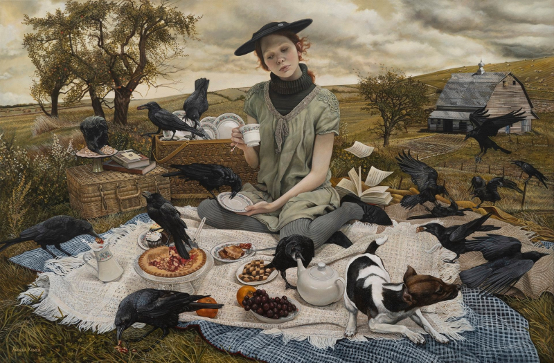 Soiree by Andrea Kowch