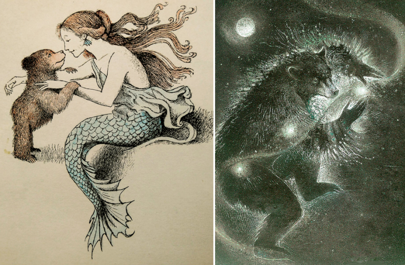 Father Bear Comes Home by Maurice Sendak and Bear Dancer by Susan Seddon Boulet