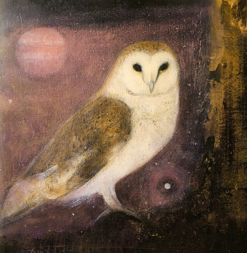 September bird: the Owl by Catherine Hyde