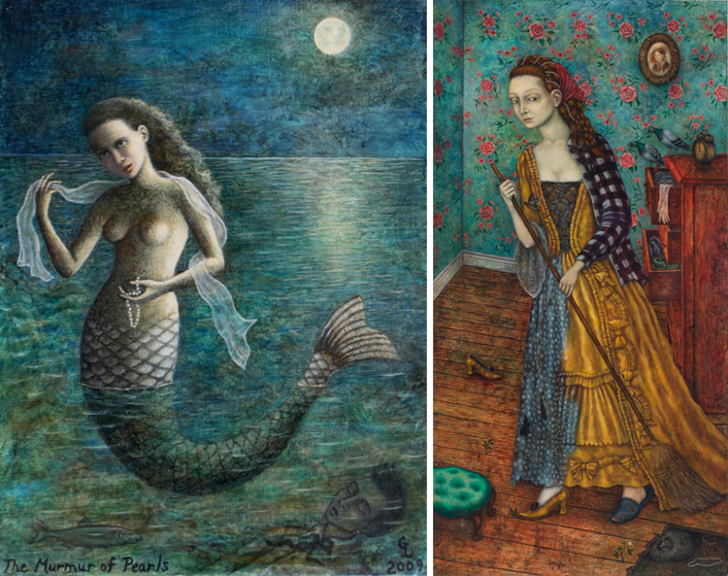 The Murmur of Pearls and Housekeeping by Gina Litherland