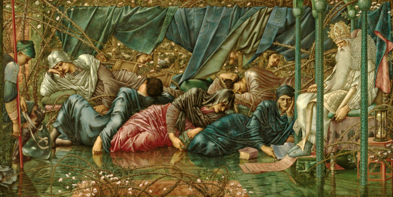 From the Briar Rose series by Sir Edward Burne-Jones