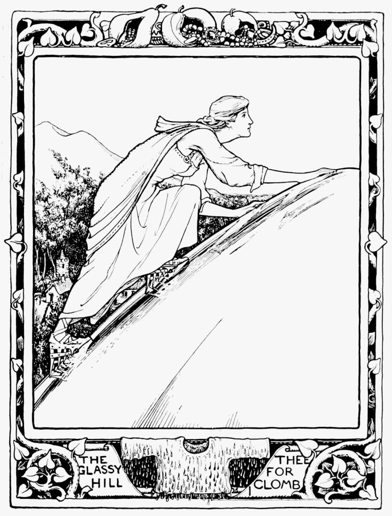 The Glassy Hill by John D. Batten