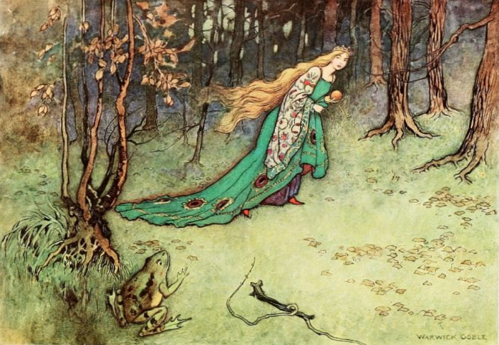 The Golden Ball by Warwick Goble
