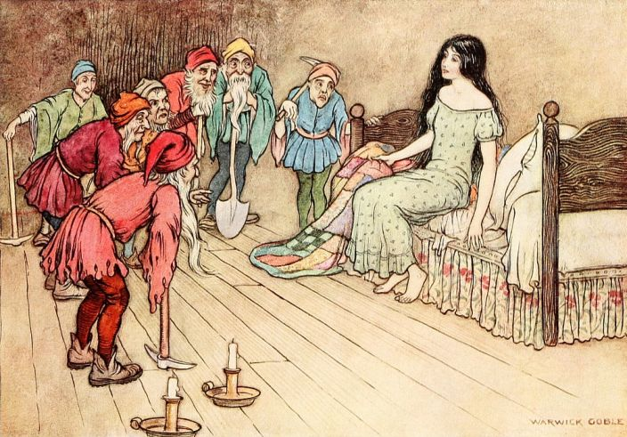 Little Snop Drop by Warwick Goble
