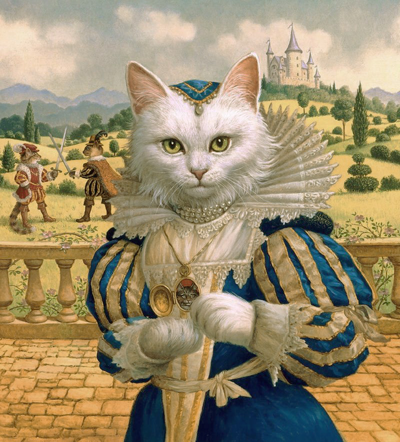 Cat Princess by Ruth Sanderson