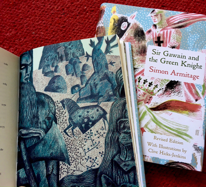 Sir Gawain & the Green Knight illustrated by Clive Hicks Jenkins