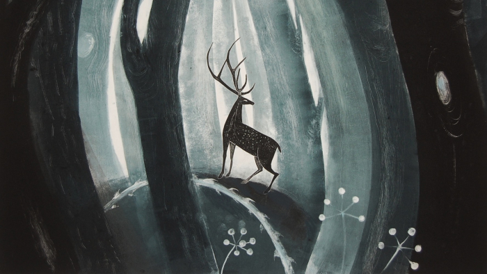 Deer by Flora McLachlan