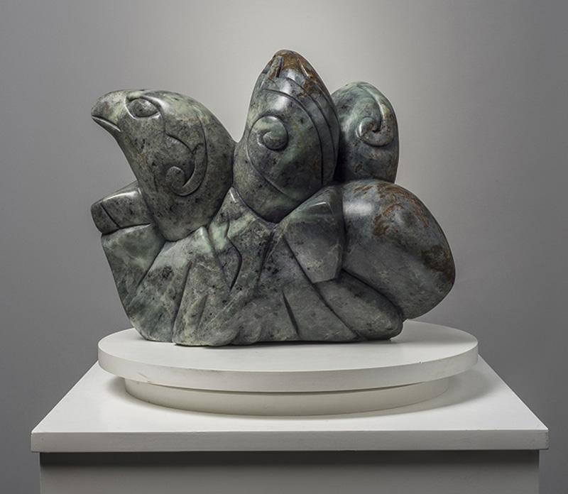 Eaglets by Abraham Anghik Ruben