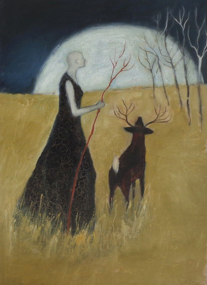 Migration Moon by Jeanie Tomanek