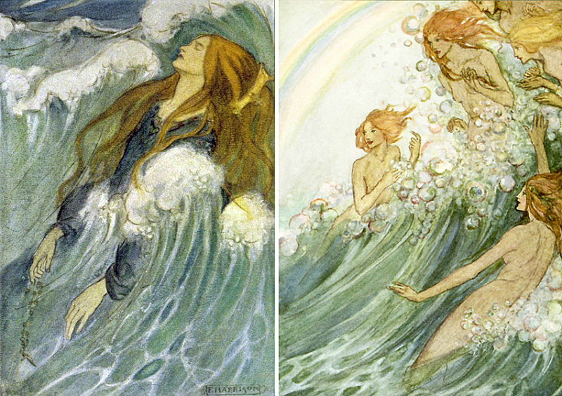 Dreamland and Sea Fairies by Florence Susan Harrison