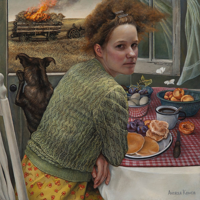 Flame by Andrea Kowch