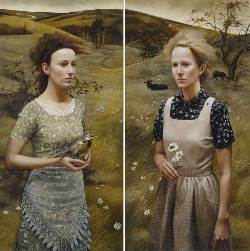 Rural Sisters II by Andrea Kowch