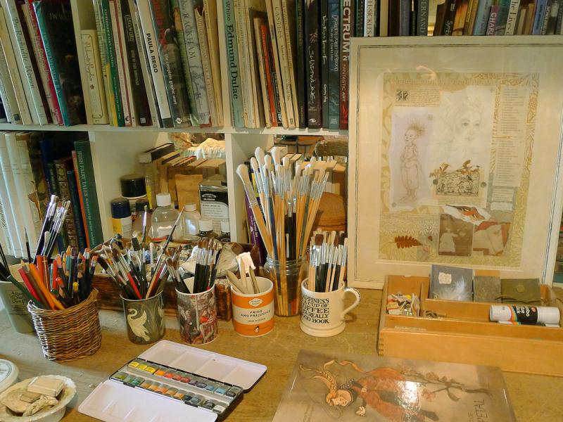 Studio worktop