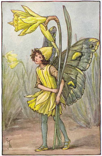 Daffodil Fairy by Cicely Barker