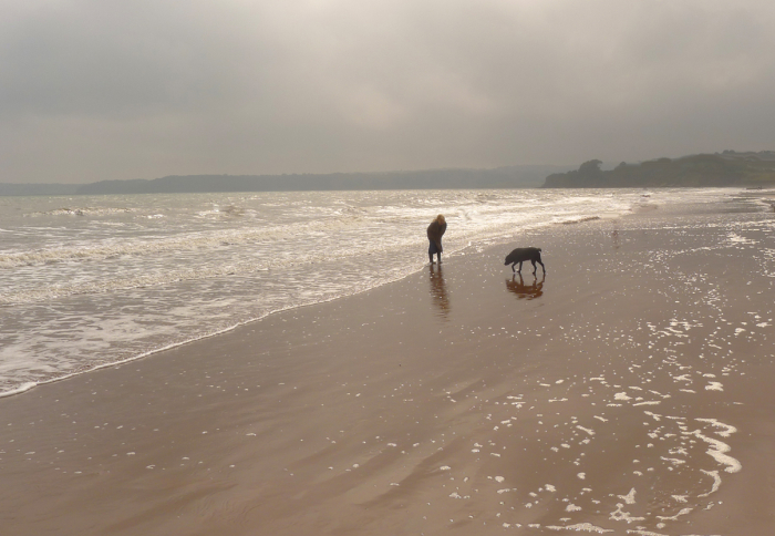Me  Tilly  and the sea