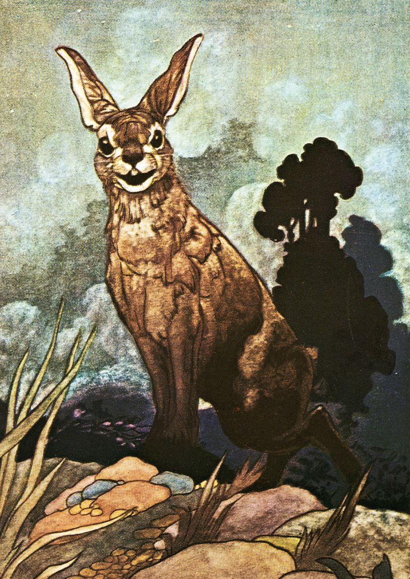 Hare by Charles Robinson