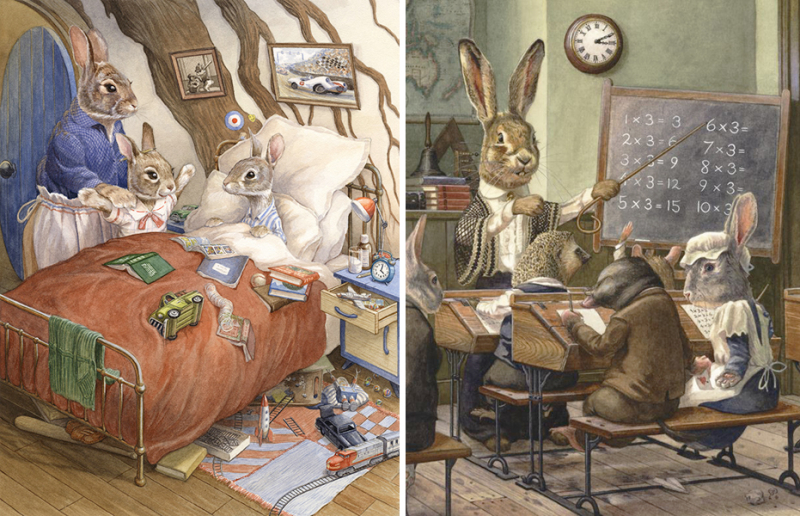 Peter's Bedroom and The Math Lesson by Chris Dunn