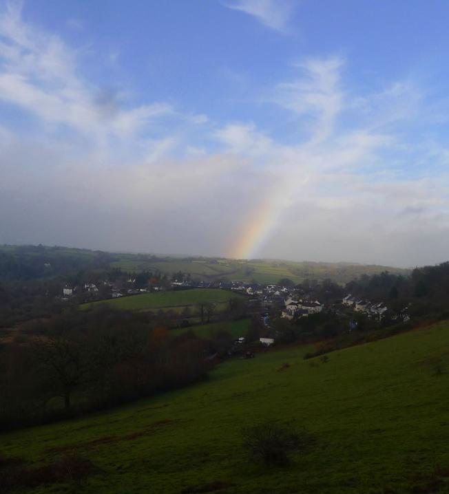 Rainbow over Chagford