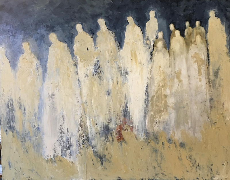 Multitudes by Jeanie Tomanek