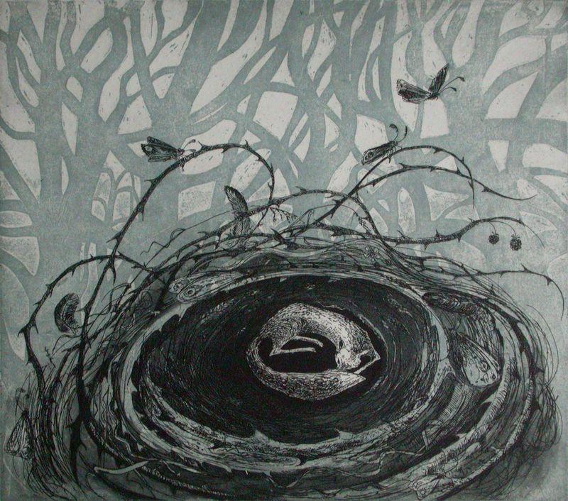 Fox Nest by Flora McLachlan