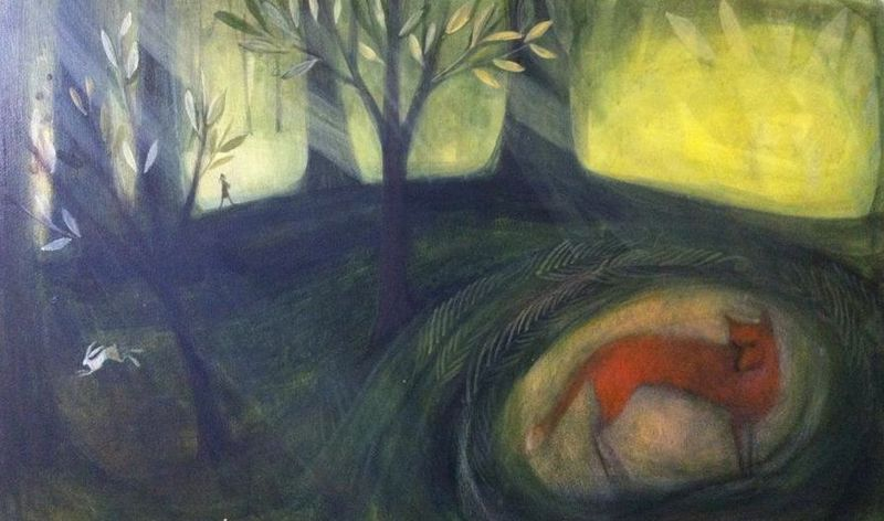 Little Evie in the Wildwood by Catherine Hyde