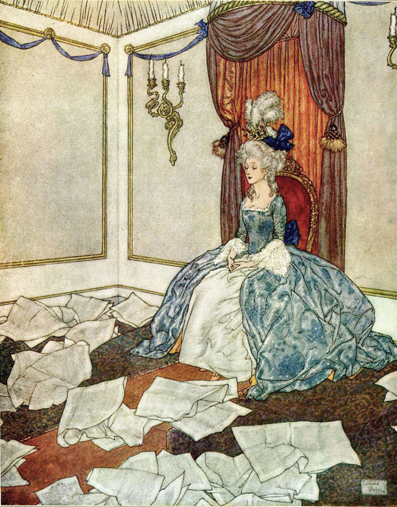 The Fairy Tales of Hans Christian Andersen illustrated by Edmund Dulac