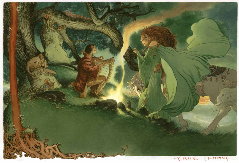 True Thomas by Charles Vess