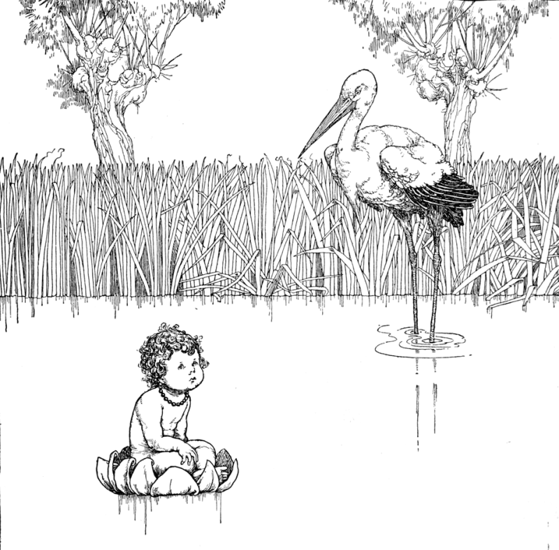 The Marsh King's Daughter by William Heath Robinson