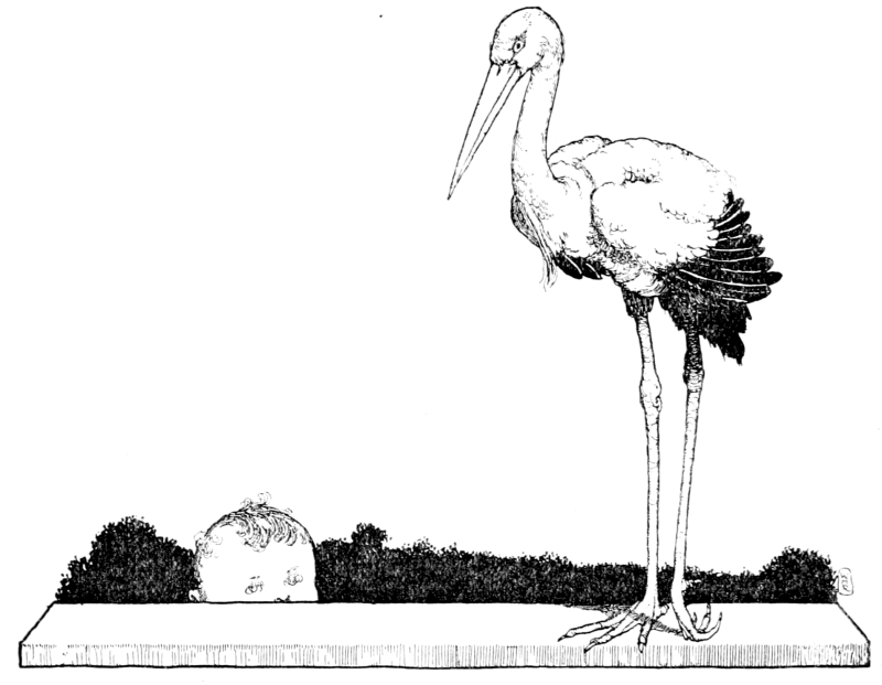 The Storks by William Heath Robinson
