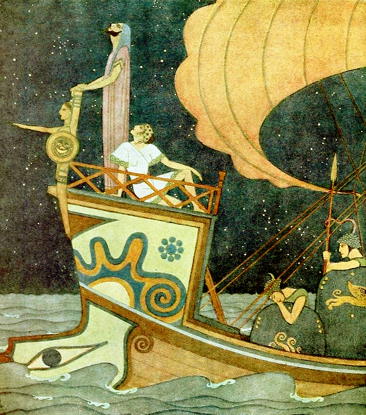 The Argonauts by Edmund Dulac