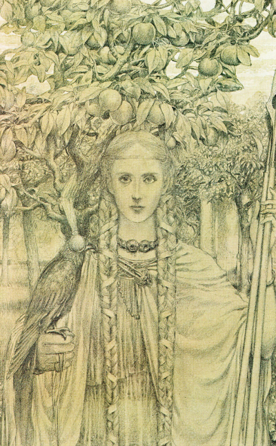 Fairy Woman by Alan Lee