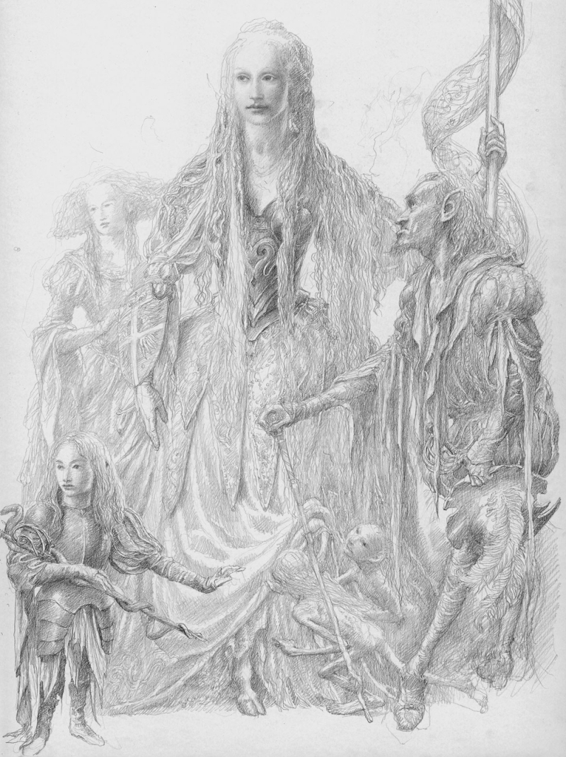 The Fairy Court by Alan Lee