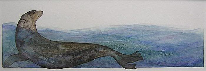 Selkie Swimming by Jackie Morris
