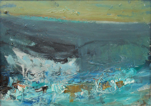 Rough Sea by Joan Eardley