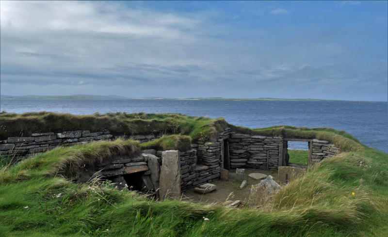 Orkney in August, photograph by David Gange