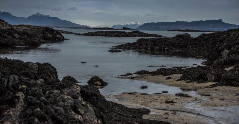 Inner Hebrides, photograph by David Gange