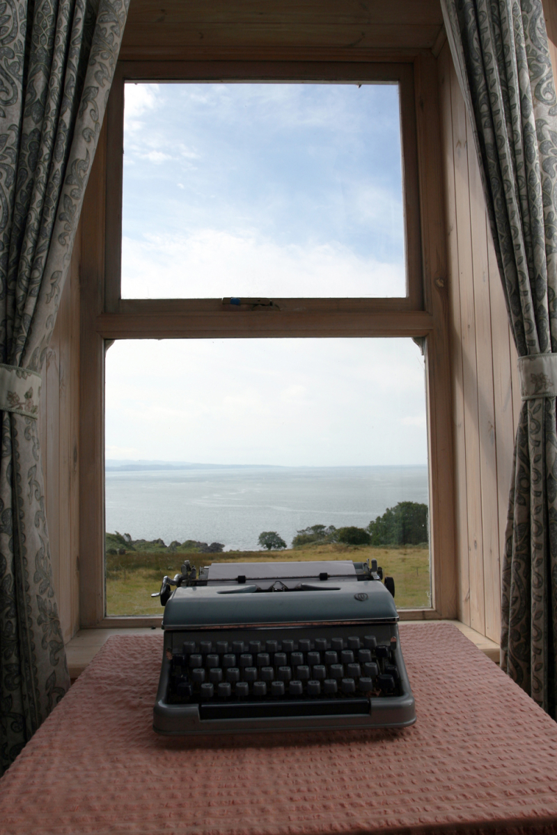 George Orwell's desk on Jura