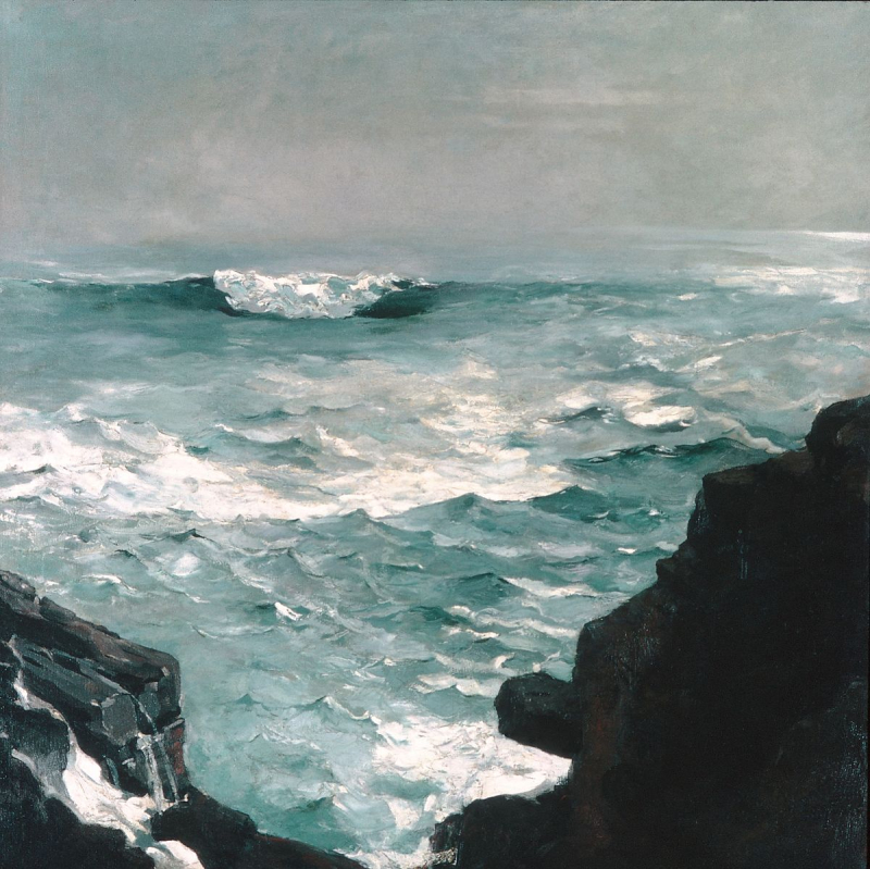 Cannon Rock by Winslow Homer